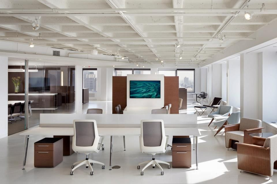 Ofs Brands In The Big Apple Modern Office Interiors Coworking