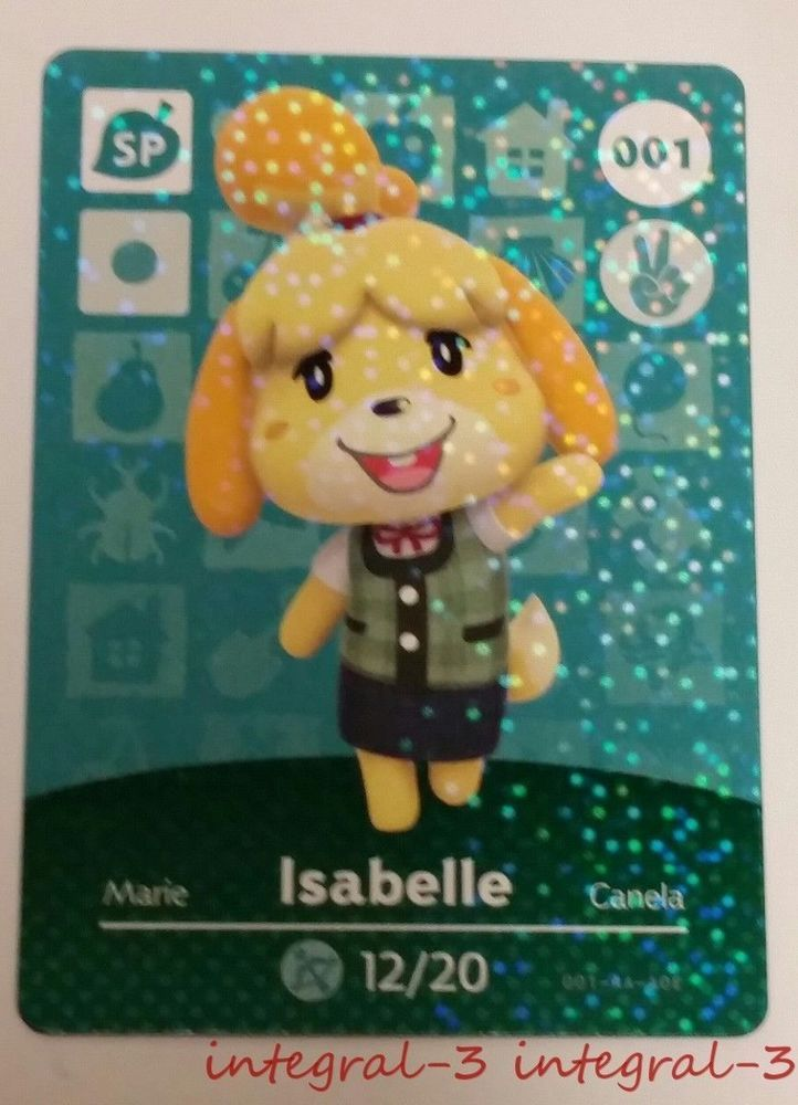 10+ Animal crossing isabelle amiibo images
