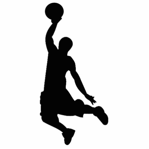 Basketball Player Silhouette Basketball Silhouette Silhouette Basketball Clipart