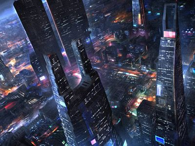 30+ Futuristic City Wallpaper 4K  Gif