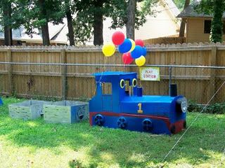 Thomas the Train Party