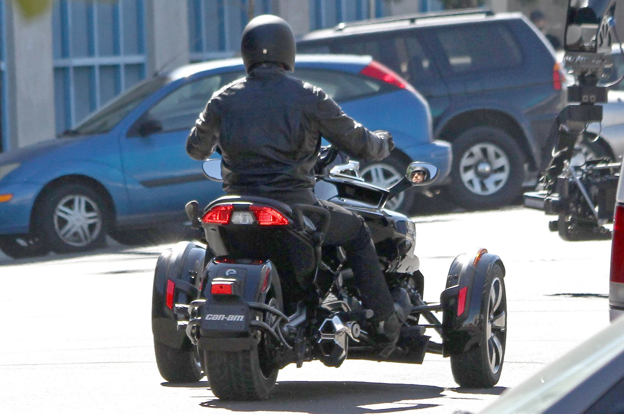 All new can am spyder f3 efi spotted with no camouflage photo gallery autoevolution can am pinterest can am spyder photos and news