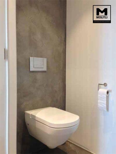 Betonlook badkamer villa door Molitli Interieurmakers   .Bathnomy ...