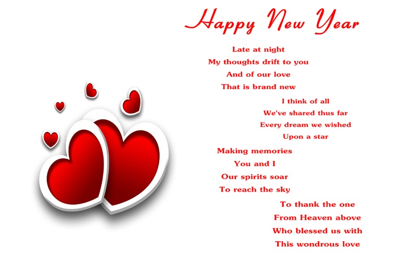 30 Romantic New Year 2020 Love Poems for Him / Boyfriend