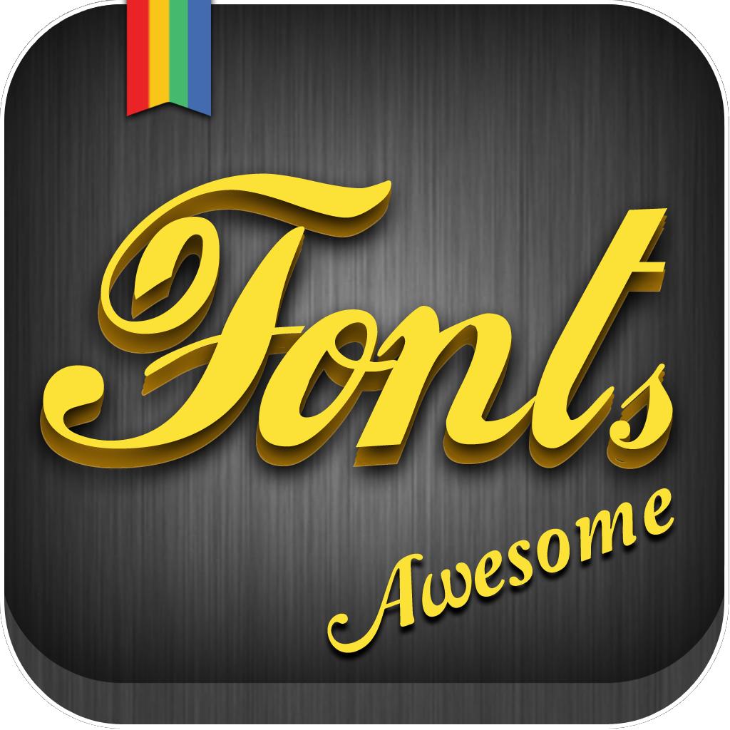 Fonts App Icon Font app, App icon, Ios app icon
