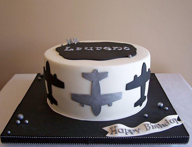 Airplane cake Cake designs Airplanes and Cake