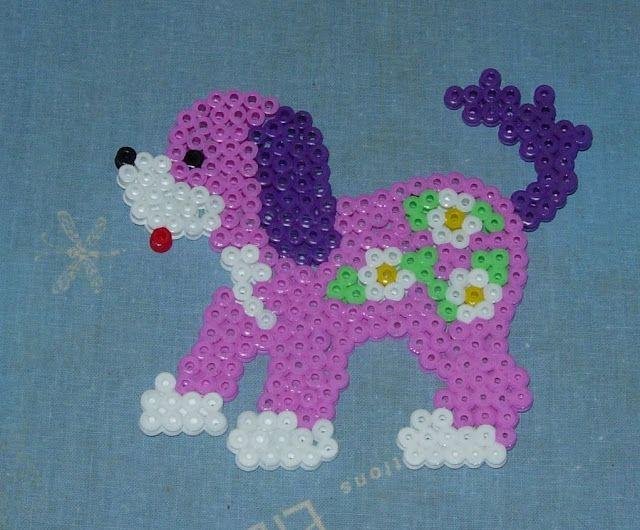 Chien Perles Hama Sandrinette57050 Perler Perler Beads