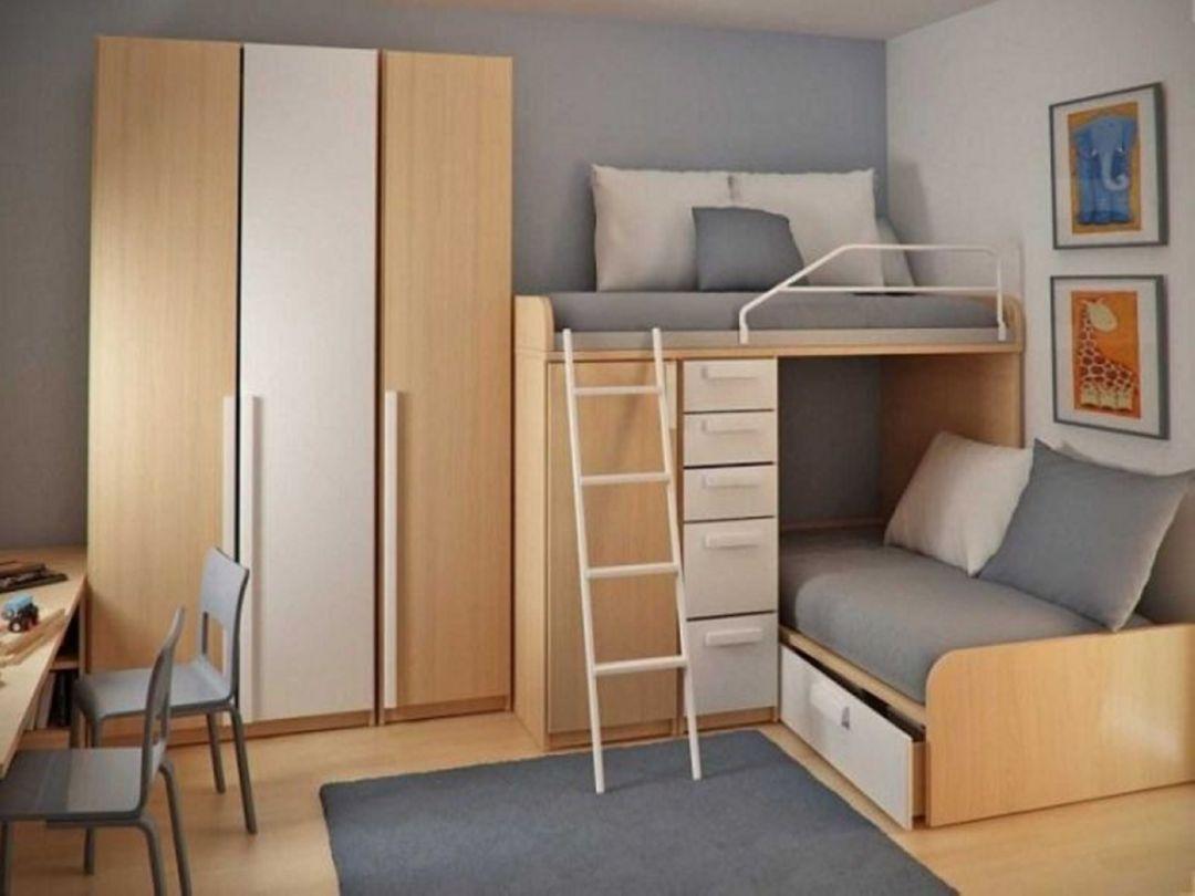 Phenomenon 12 Small Special Bedroom Design Ideas For Small Houses Https Decoretoo Com 12 Small Spe Beds For Small Rooms Bunk Beds Small Room Double Loft Beds