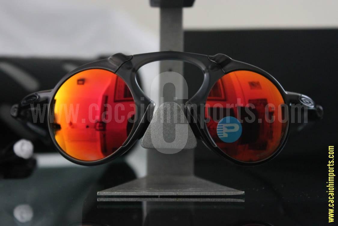 Oakley Madman Dark Carbon   Ruby Iridium Polarized   Estilo   Óculos ... 533a03ec4f
