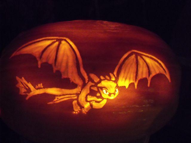 16+ Dragon pumpkin carving template inspirations