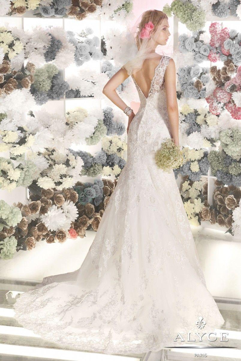 Bridal dress style back view wedding dresses