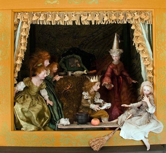 Dolls by Anna Brahms
