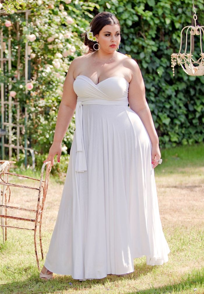 78  images about All White Party on Pinterest  Plus size dresses ...