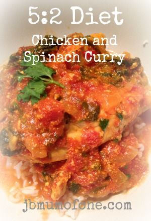52 diet Chicken and Spinach Curry 52 Diet Delicious Chicken and Spinach Curry