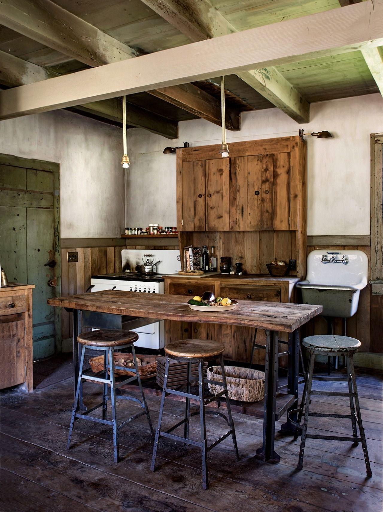 Rustic cabin kitchen   KITCHEN - BLOG   Pinterest