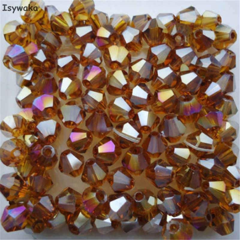 4mm 6//0 Round 100Pcs Czech Glass Seed Spacer Beads Jewelry Making