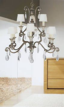 Versailles Forged Iron Chandelier French Provincial Style In