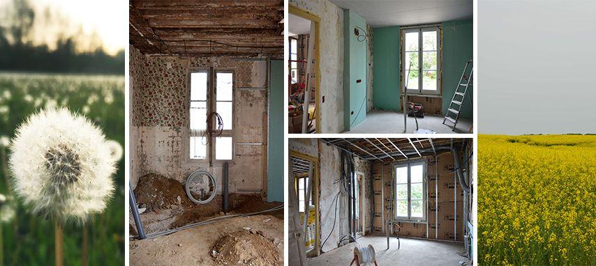 Avant Apres Renovation Complete D Une Maison De Maitre Dans L Oise 3 5 Maison De Maitre Maison De Luxe Maison