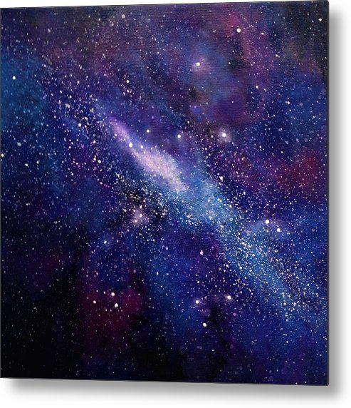 Galaxy  Metal Print by Ivy Stevens-Gupta -   13 beauty Images galaxy ideas