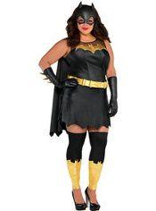 Adult Batgirl Costume Plus Size - Batman  sc 1 st  Pinterest & Adult Batgirl Costume Plus Size - Batman | Holidays | Pinterest ...