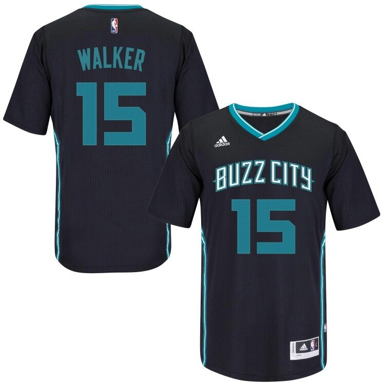 Black Buzz City Kemba Walker jersey  f44667eaf
