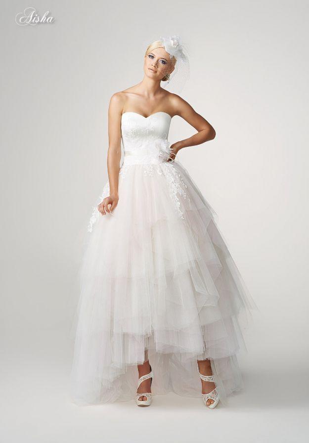 Asymetryczne Suknie ślubne ślubne Stylizacje Pinterest Wedding