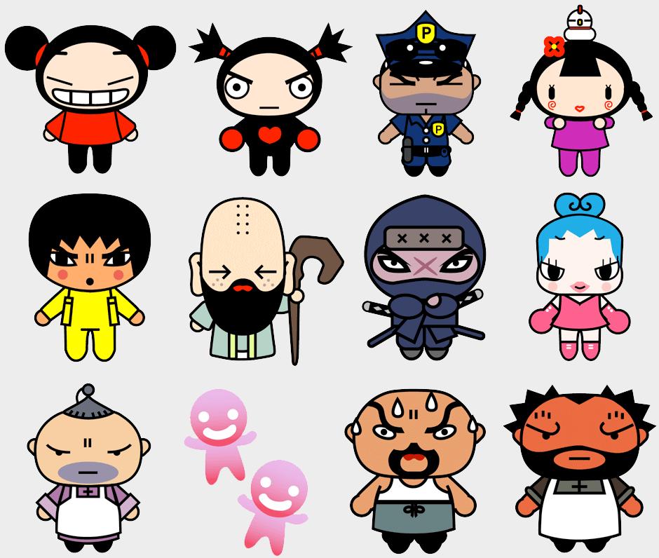 Todos os personagens amigos da Pucca | puca y garu | Pinterest ...