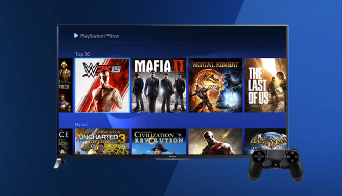 Sony S Playstation Now Streaming Service Now Includes Ps4 Games Techcrunch Ps4 Games Playstation Now Games