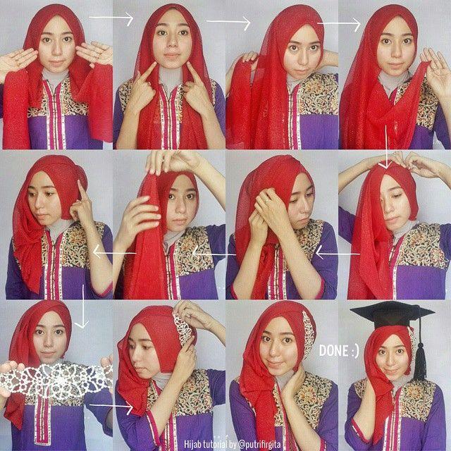 Hijab Chest Cap Graduation – Pict Hijab and Jilbab