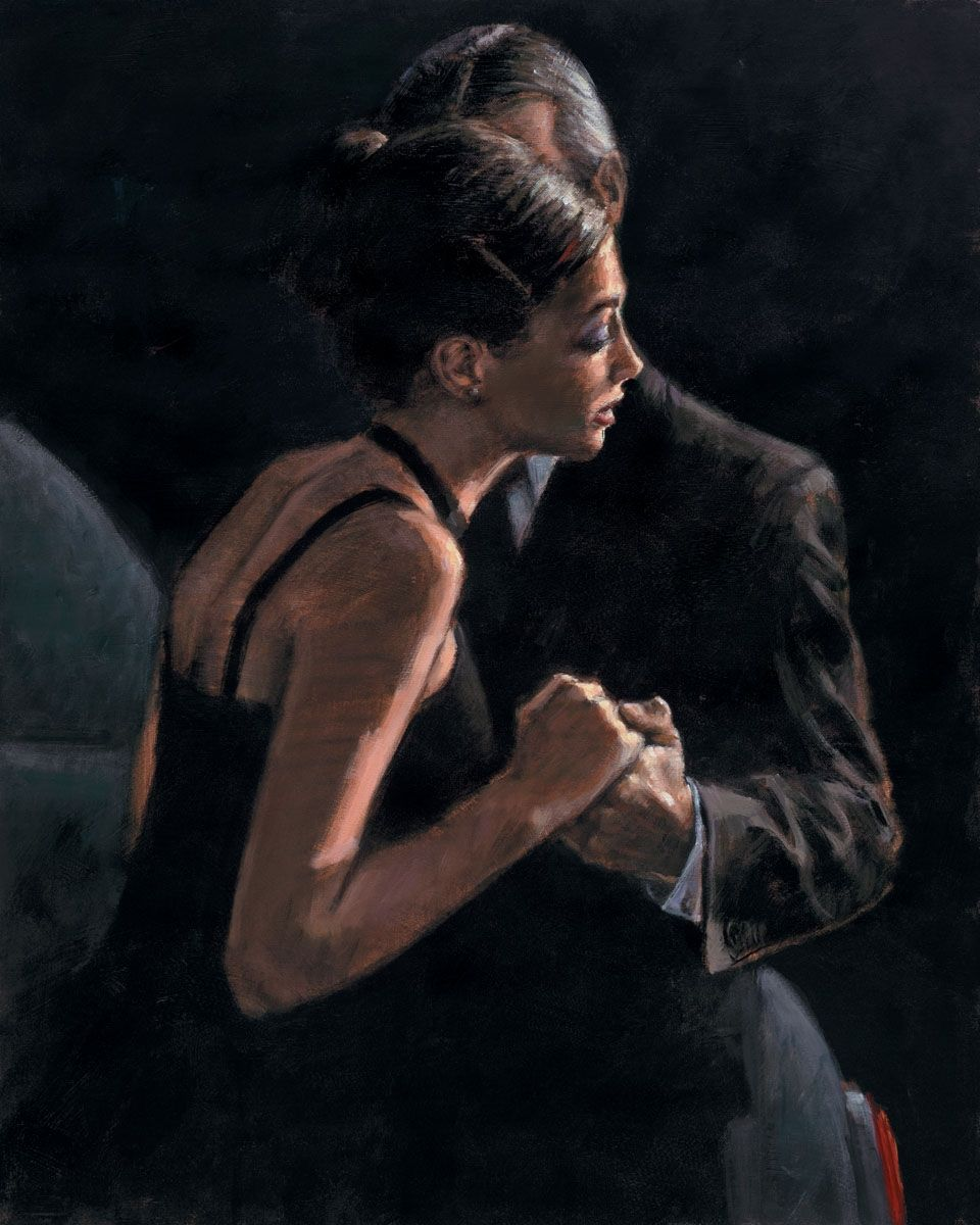 The Proposal At Train Station Painting Fabian Perez Art Artist