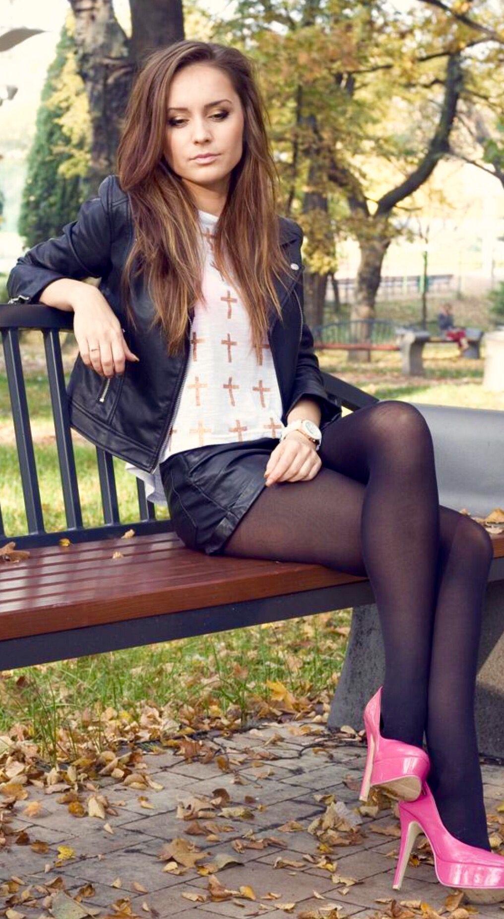 Sheer Pantyhose Luxuriates