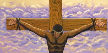 True Passion By Lester Kern Family Art Black Art Black Jesus