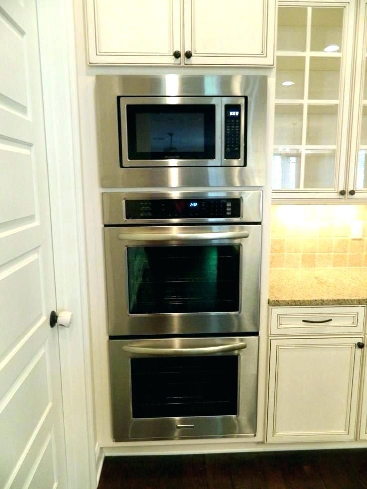 Double Oven With Microwave Above Christuck In 2019