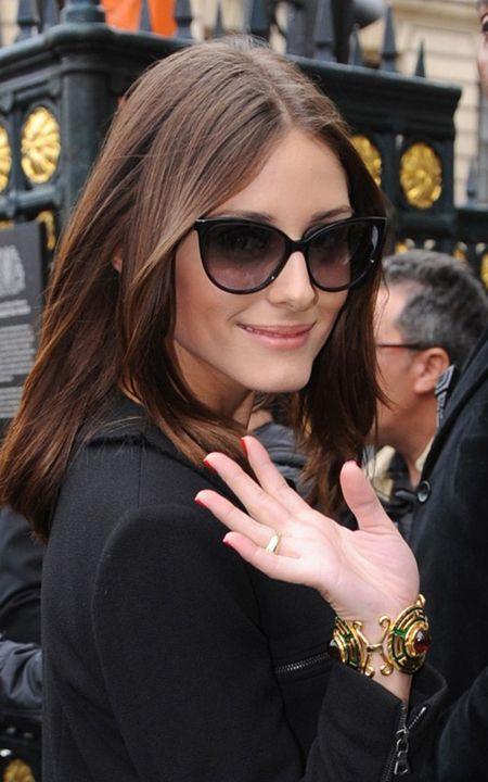 Olivia Palermo wearing Tom Ford Alicia Sunglasses   Spectacular ... 6634e3d167