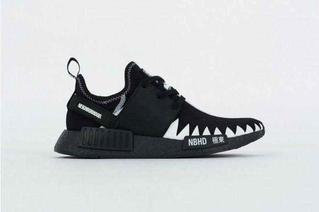 nmd r1 pk nbhd (nero / bianco) adidas pinterest nmd r1, nmd e