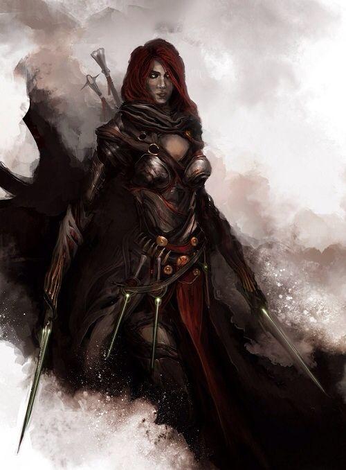 Medieval Avengers Black Widow