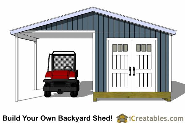 10x14 Gable Shed Plans With A Porch Front Elevation Shed Plans Building A Shed Wood Shed Plans