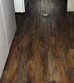 Vinyl plank flooring is vinyl flooring that is available for Linoleum that looks like hardwood floors