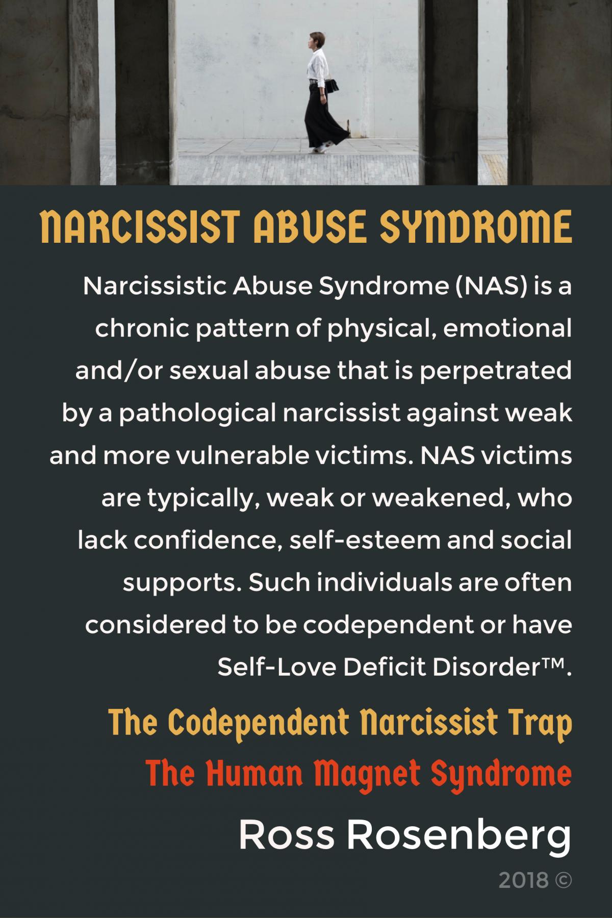Magnet for narcissists