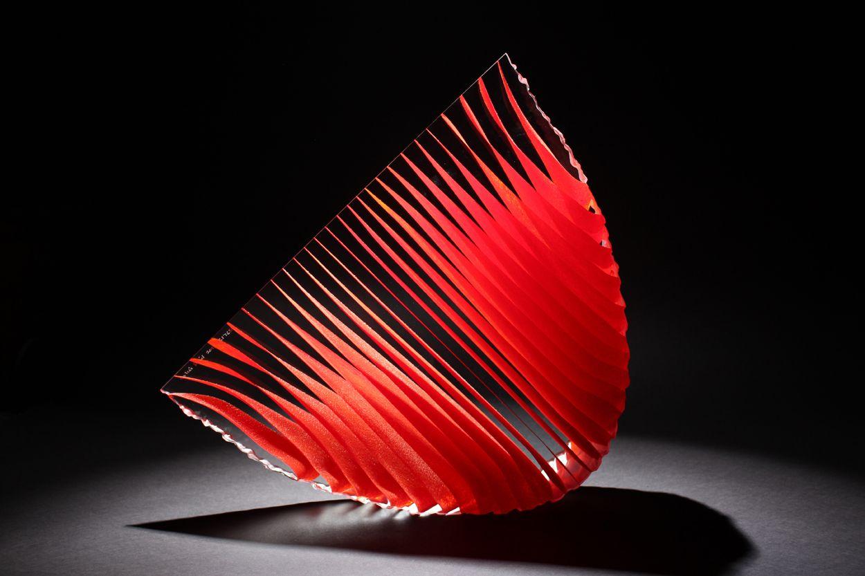 Colin Reid Red Crescent Toledo Museum Of Art Walker Art Glass Museum