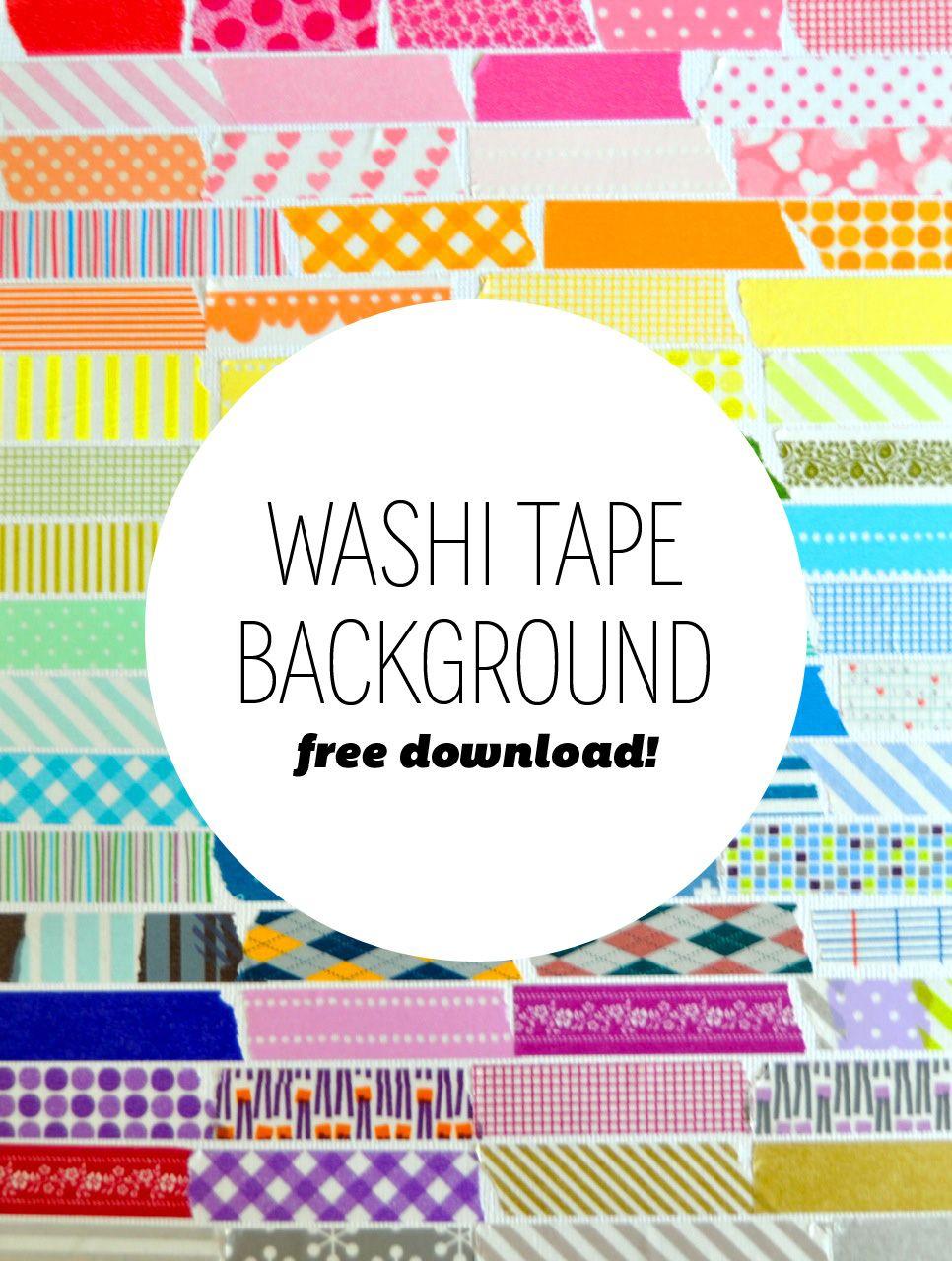 amy tangerine washi tape background | Ideas | Pinterest ...
