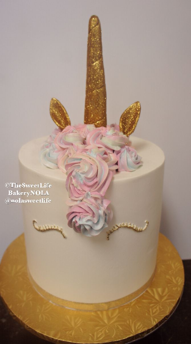 Phenomenal Unicorn Cake By The Sweet Life Bakery New Orleans Birthday Cards Printable Trancafe Filternl
