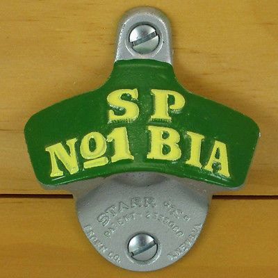 NOTHING TO FEAR BUT LACK OF BEER Starr X Wall Mount Bottle Opener NEW