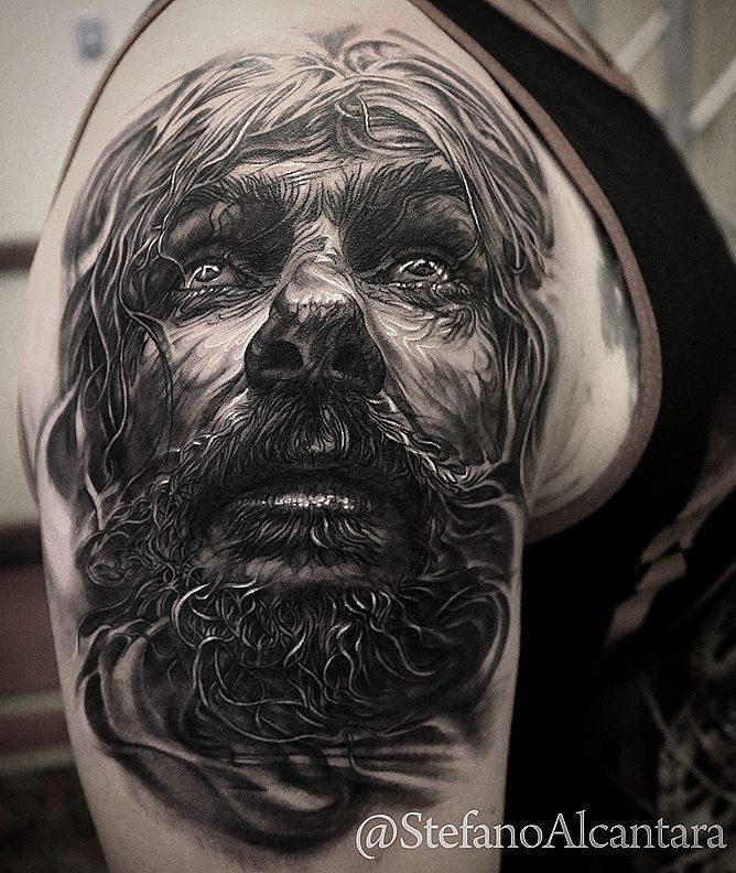 Sleeve tattoo Tatouage, Art