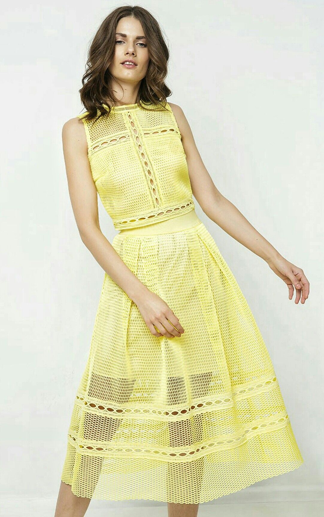 Yellow skirt e9771034a5b