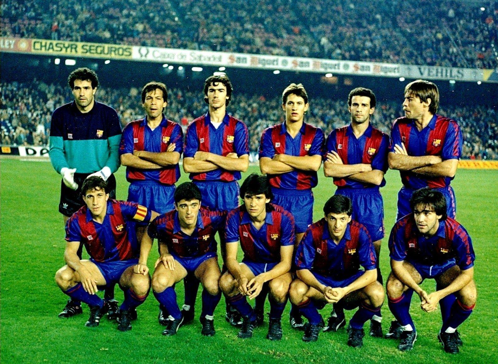 F. C. BARCELONA desde la temporada 198081 a la 19992000