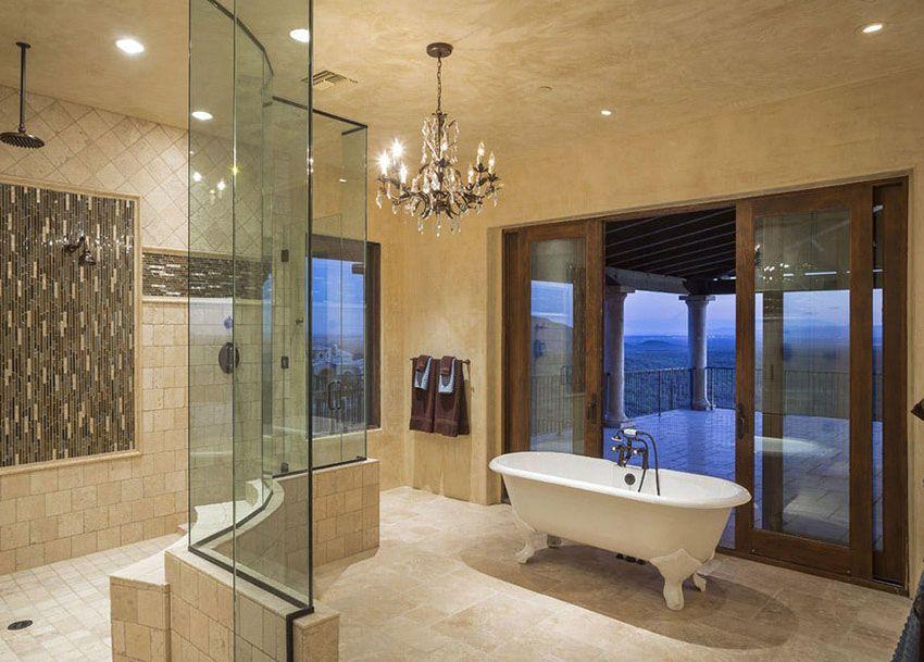 27 Gorgeous Bathroom Chandelier Ideas Luxury Master Bathrooms