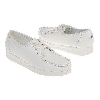 Nurse Mates Women's Anni Lo Shoes in White. Available at the iStudentNurse  Shop for Nurses