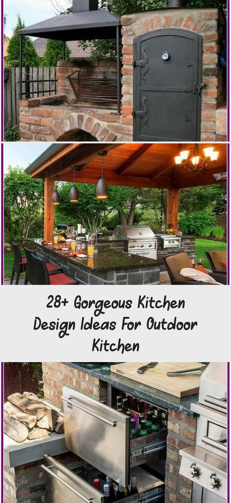 28 Gorgeous Kitchen Design Ideas For Outdoor Kitchen In 2020 Gorgeous Kitchens Kitchen Design Outdoor Kitchen Island