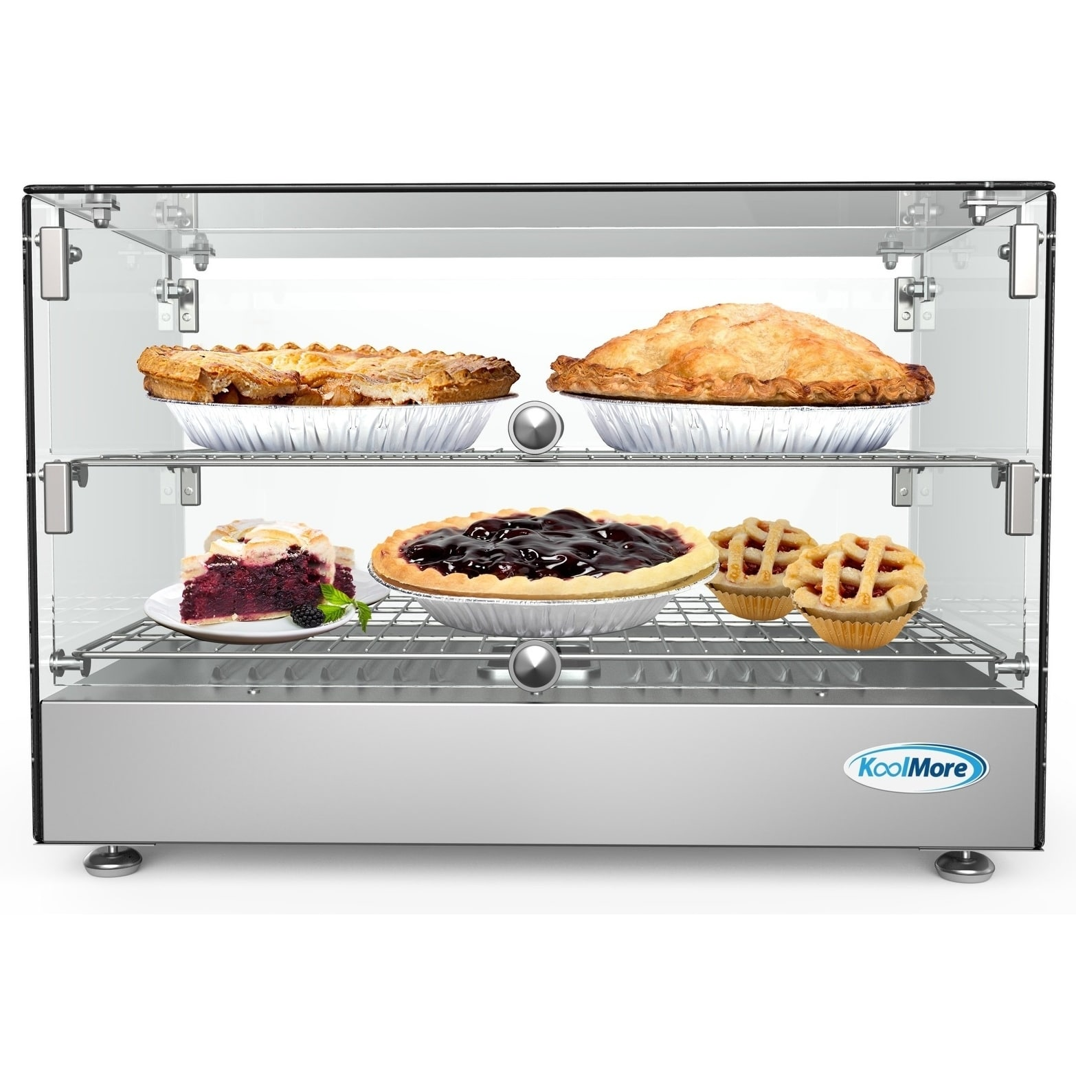 22 Inch Self Service Commercial Countertop Food Warmer Display